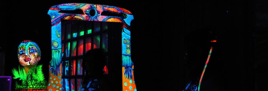 décorations fluorescentes pour vos fêtes