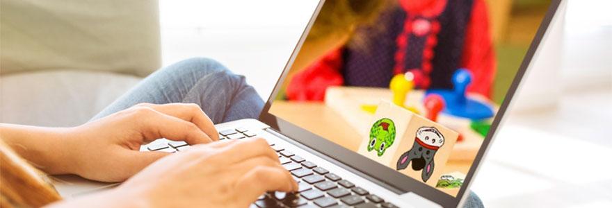Matériel pédagogique en ligne