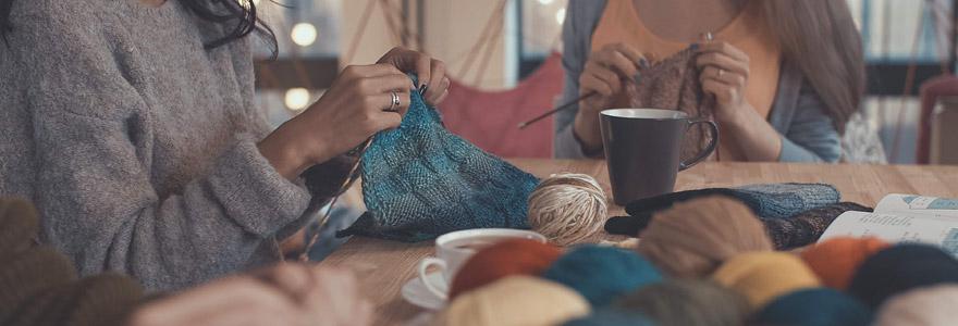 commencer à tricoter