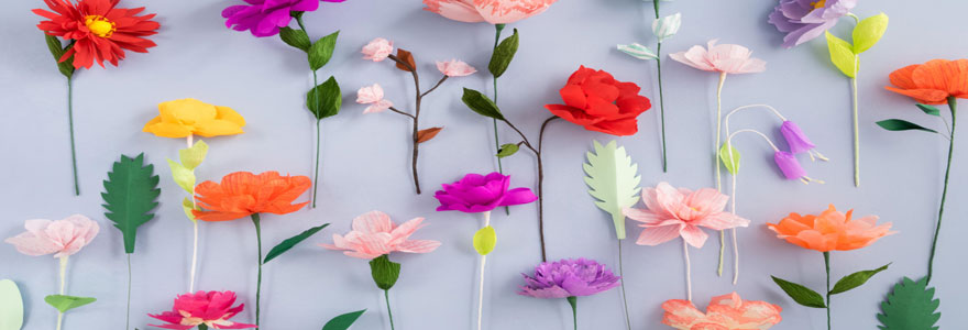 utilisation du papier de soie dans la décoration